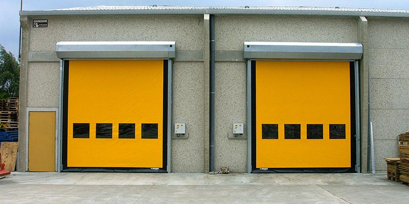 Hızlı PVC Kapı Sistemleri